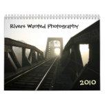Los ríos quisieron fotografía calendario de pared