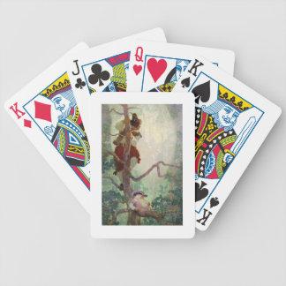 Los ritos de la primavera, ejemplo 'de un niño baraja cartas de poker