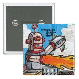 Los robots de TBP son su botón del amigo Pins