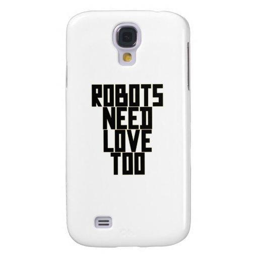 Los robots necesitan amor también por Chillee Wils