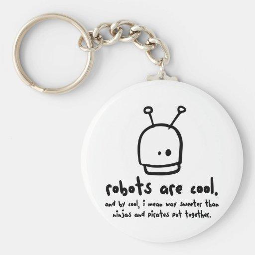 los robots son cool1 llaveros