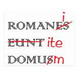 Los romanos van a casa postal