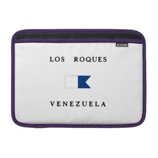 Los Roques Venezuela Alpha Dive Flag Sleeve For MacBook Air