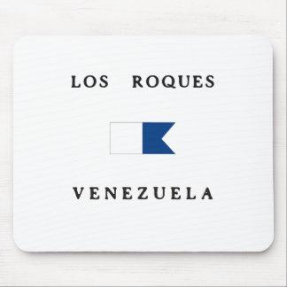 Los Roques Venezuela Alpha Dive Flag Mousepad