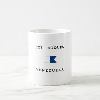 Los Roques Venezuela Alpha Dive Flag Mugs