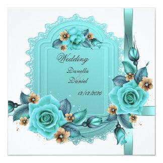 Los rosas beige azules del trullo elegante del comunicado