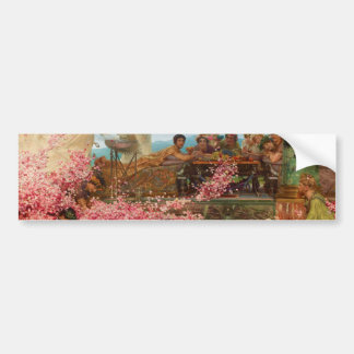 Los rosas de Heliogabalus de Lawrence Alma-Tadema Pegatina Para Auto