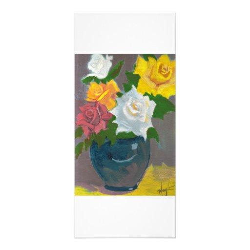 Los rosas de la mamá tarjeta publicitaria personalizada