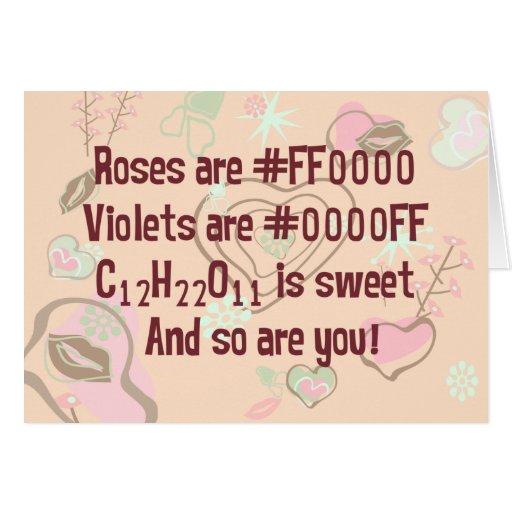 Los rosas del friki son rojos tarjetón