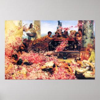 Los rosas del poster de Heliogabalus