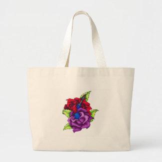 Los rosas femeninos del chica bolsas de mano