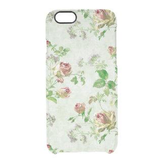 Los rosas lamentables del modelo color de rosa funda clearly™ deflector para iPhone 6 de uncommon