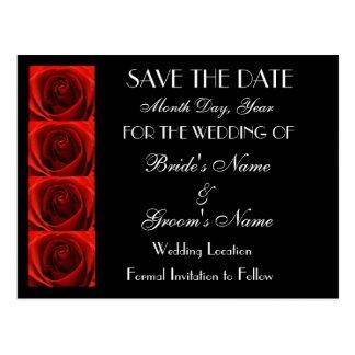 Los rosas rojos de la obra clásica 4 ahorran la postal