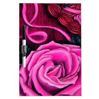Los rosas rosados del grillo pizarras blancas de calidad