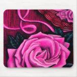 Los rosas rosados Mousepad bonito del grillo para Alfombrillas De Raton