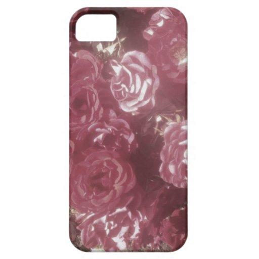 Los rosas son así que caso suave del iPhone 5 del  iPhone 5 Cárcasa