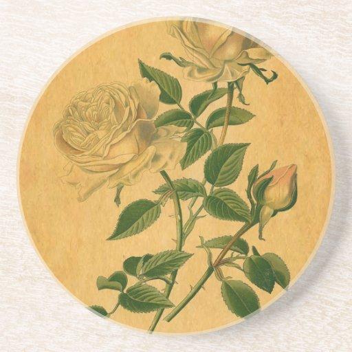 Los rosas son de oro posavasos manualidades