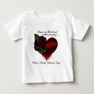 Los rosas son poema negro t shirt