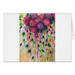 Los ROSAS SON RAD - ramo floral intrépido de los r Tarjetas
