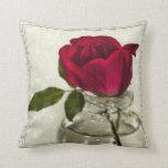 Los rosas son rojos almohada