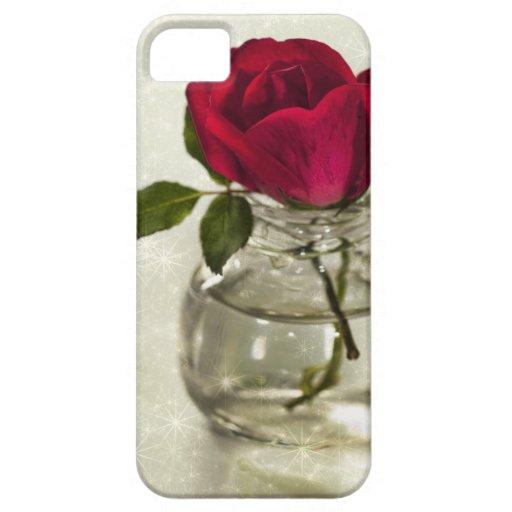 Los rosas son rojos funda para iPhone SE/5/5s