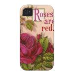 Los rosas son rojos… iPhone 4/4S carcasa