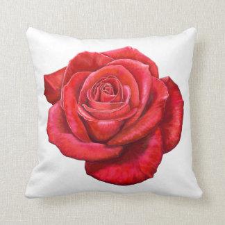 Los rosas son rojos mi almohada de tiro del rosa