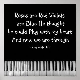 Los rosas son rojos ..... poster