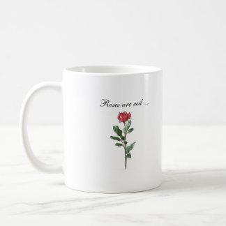 Los rosas son rojos… tazas