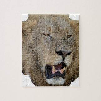 Los rugidos del león puzzle con fotos