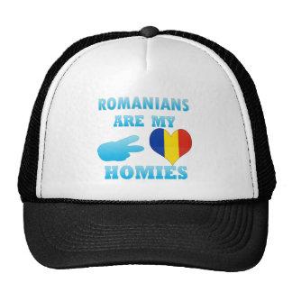 Los rumanos son mi Homies Gorro