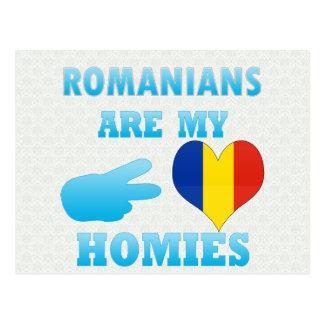 Los rumanos son mi Homies Tarjetas Postales