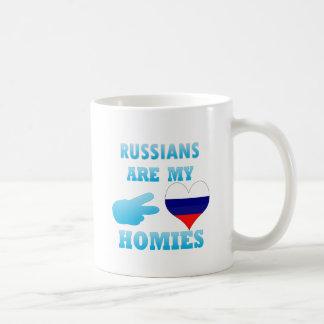 Los rusos son mi Homies Taza Clásica