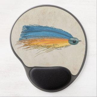 Los salmones FlyFishing del arte del señuelo Alfombrilla Gel