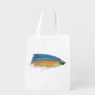 Los salmones FlyFishing del arte del señuelo Bolsa De La Compra