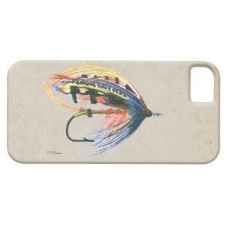 Los salmones FlyFishing del arte del señuelo iPhone 5 Fundas