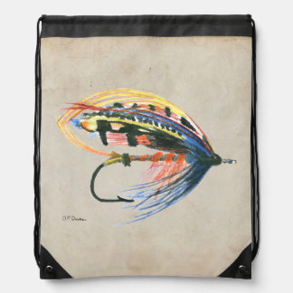 Los salmones FlyFishing del arte del señuelo Mochilas