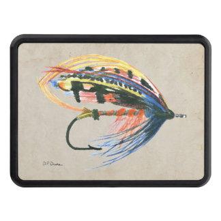 Los salmones FlyFishing del arte del señuelo Tapas De Tráiler