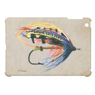 Los salmones FlyFishing del arte del señuelo vuela iPad Mini Protectores