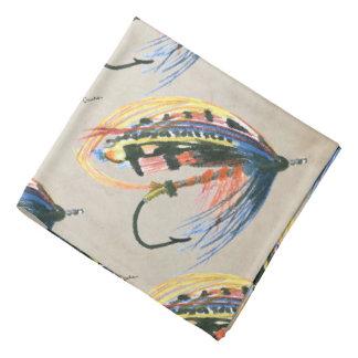 Los salmones FlyFishing del arte del señuelo Bandana