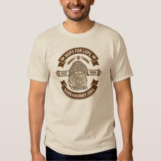 Los saltos para Lops la camiseta Poleras