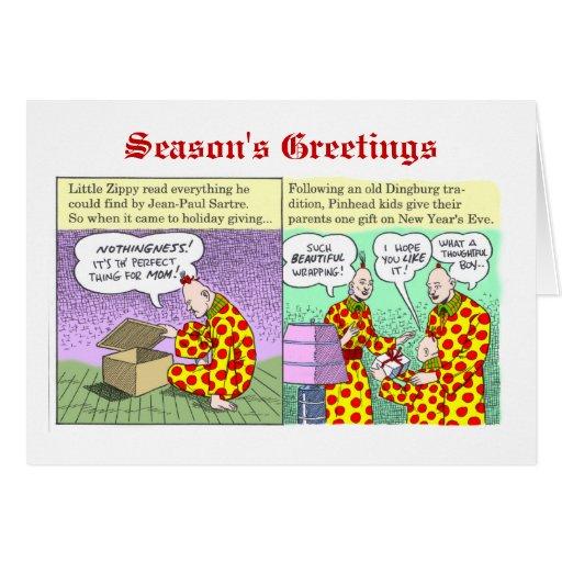 Los saludos de la estación de enérgico tarjetas
