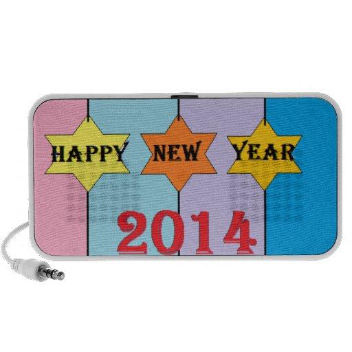 Los saludos del Año Nuevo iPhone Altavoz