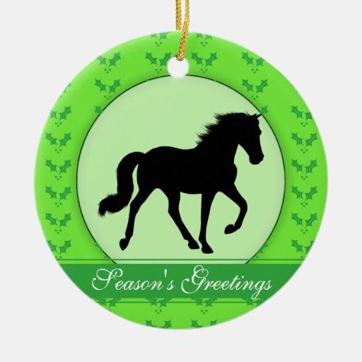 Los saludos del caballo de Tennessee que camina de Ornamentos De Navidad