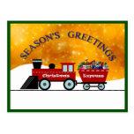 Los saludos v.5d de la estación: El navidad Postal