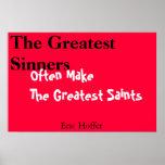 los santos más grandes poster