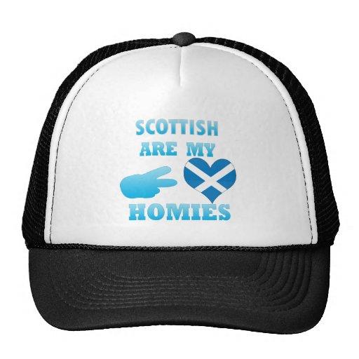 los scottishs son mi Homies Gorras De Camionero