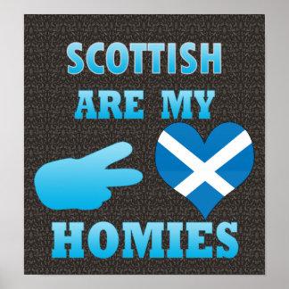 los scottishs son mi Homies Posters