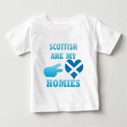 los scottishs son mi Homies Playera De Bebé