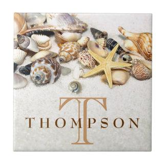 Los Seashells tejan personalizado